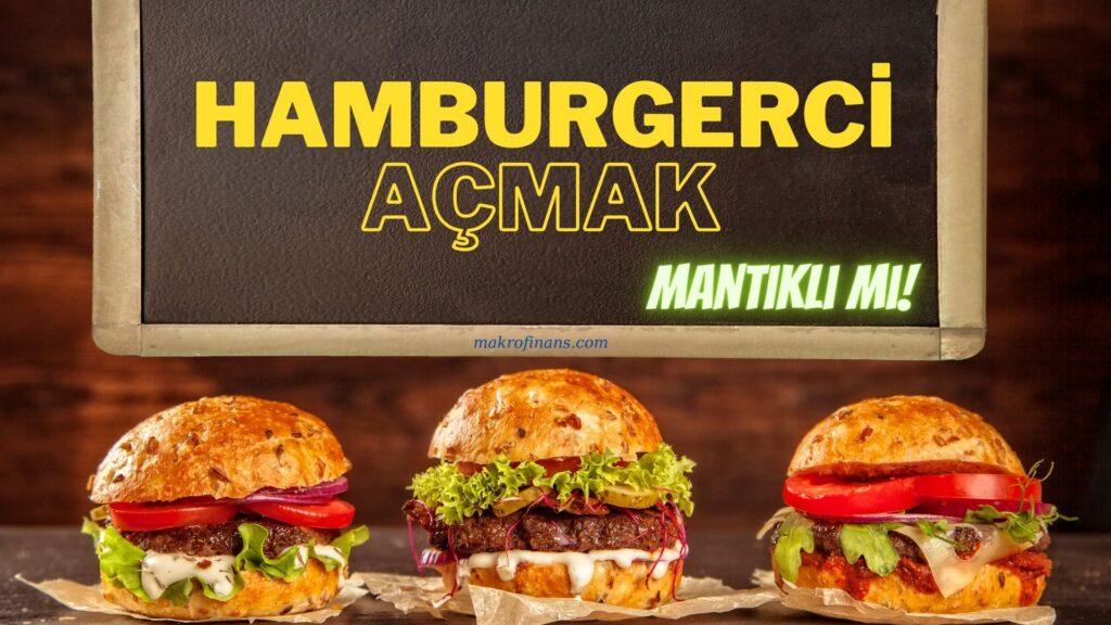 Hamburgerci Açmak